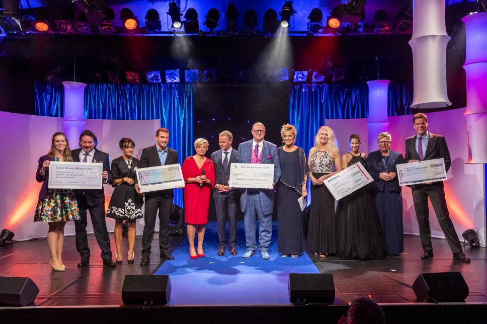 Diabetes-Charity-Gala 2019: Spendenübergabe