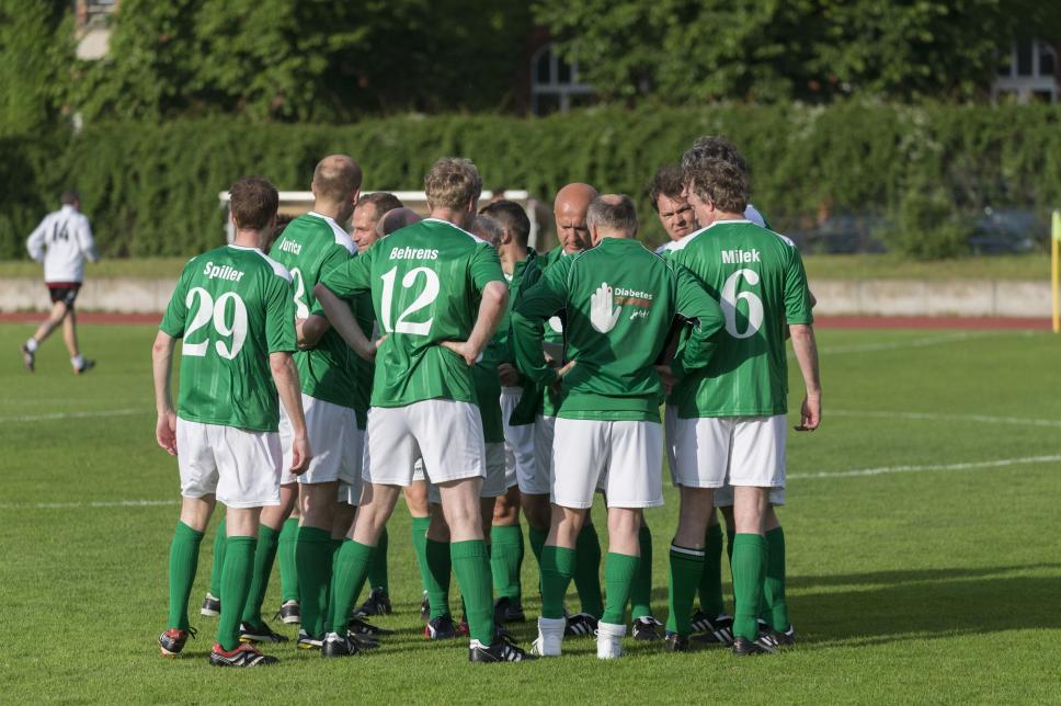 FC Diabetologie vs. FC Bundestag (Rückspiel): Mannschaft