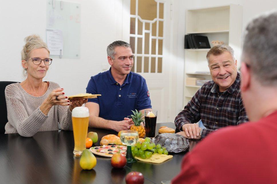 Patienten bei Ernährungsberatung