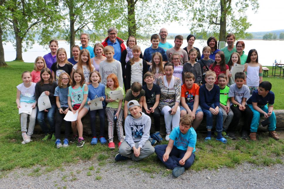 Gruppe von Kindern - Bodensee-Freizeit