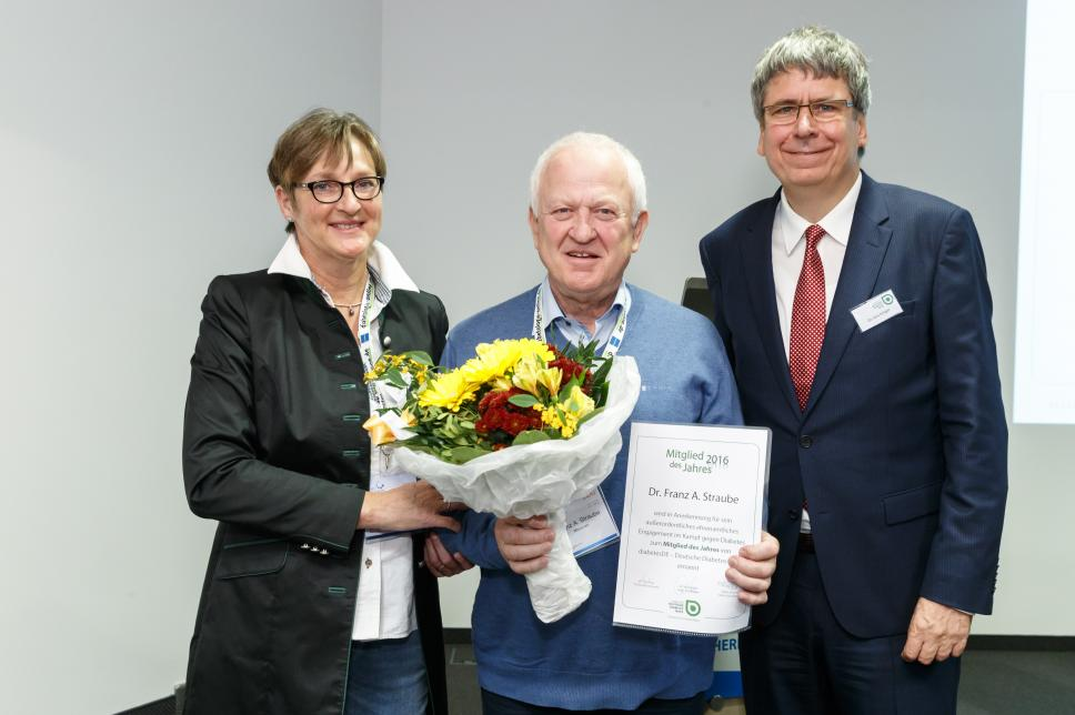 Mitglied des Jahres 2016: Dr Franz Straube