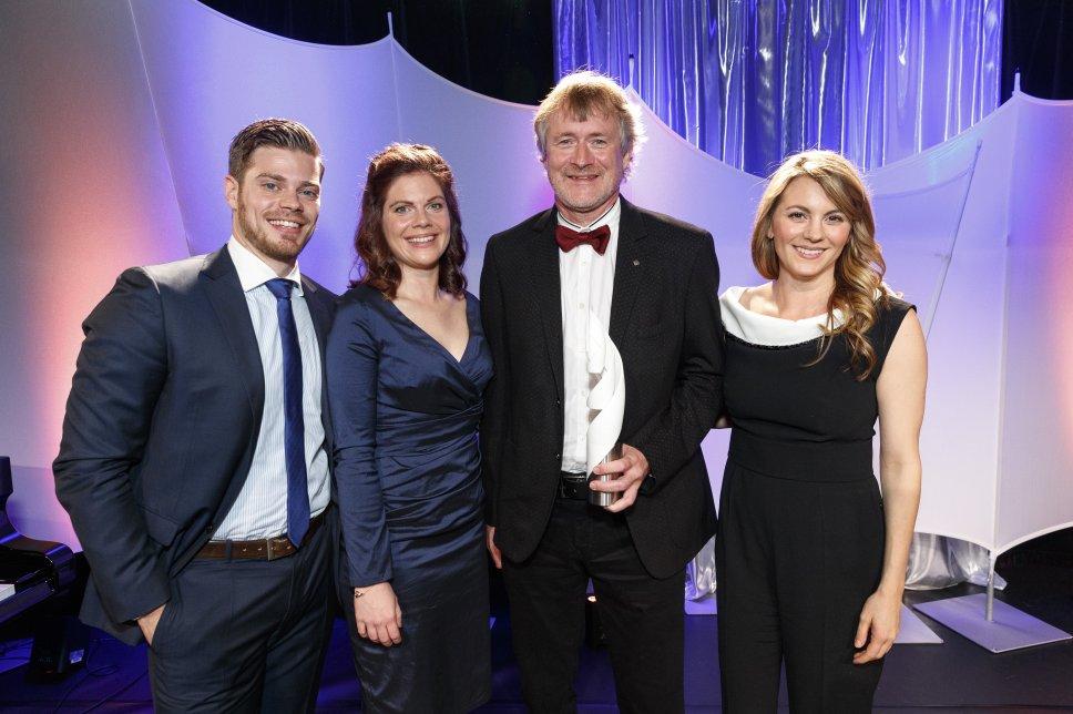 Preisträger Dr. Karsten Milek auf der Gala 2017