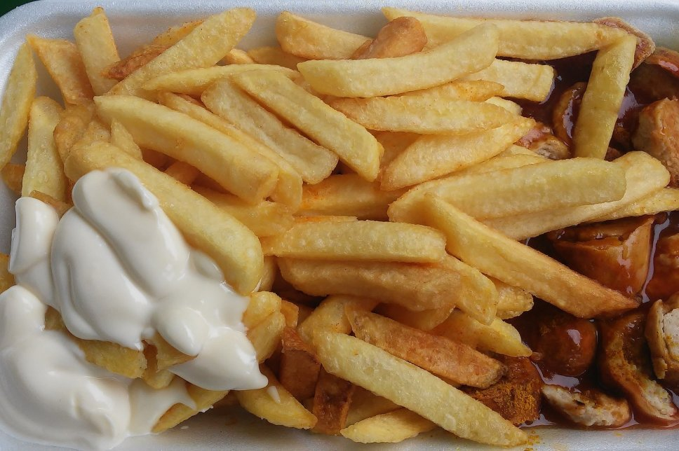Fast Food Currywurst