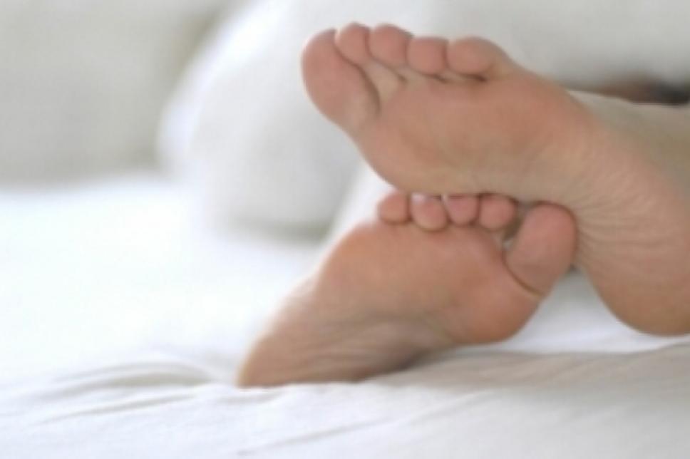 Füße Bett Fuß