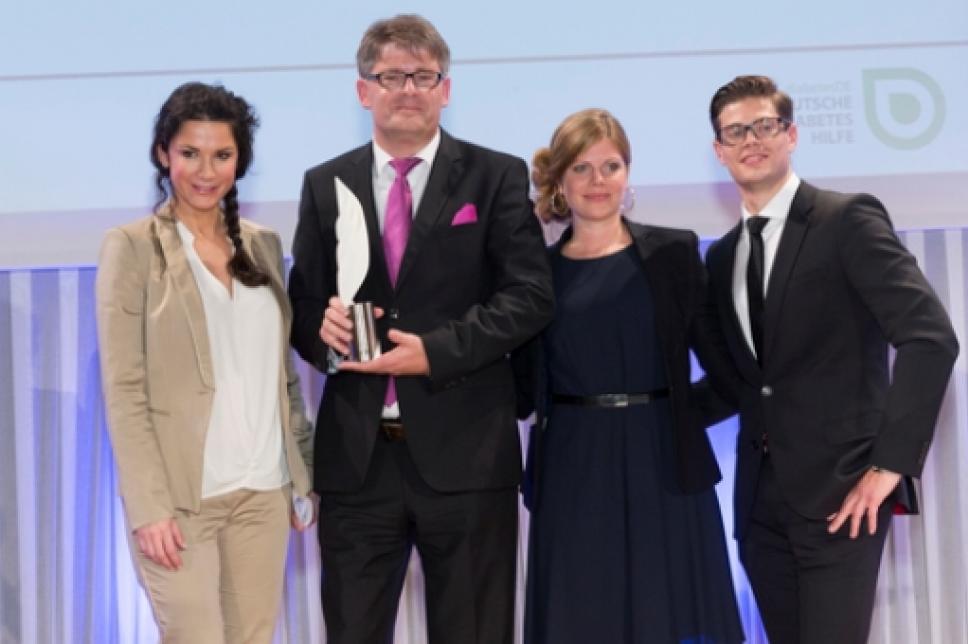 Diabetes Charity Gala 2014 Mariella Ahrens, Oliver Ebert, Jennifer und Julien Fuchsberger