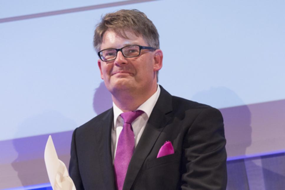 Diabetes Charity Gala 2014 Oliver Ebert Thomas Fuchsberger Preis