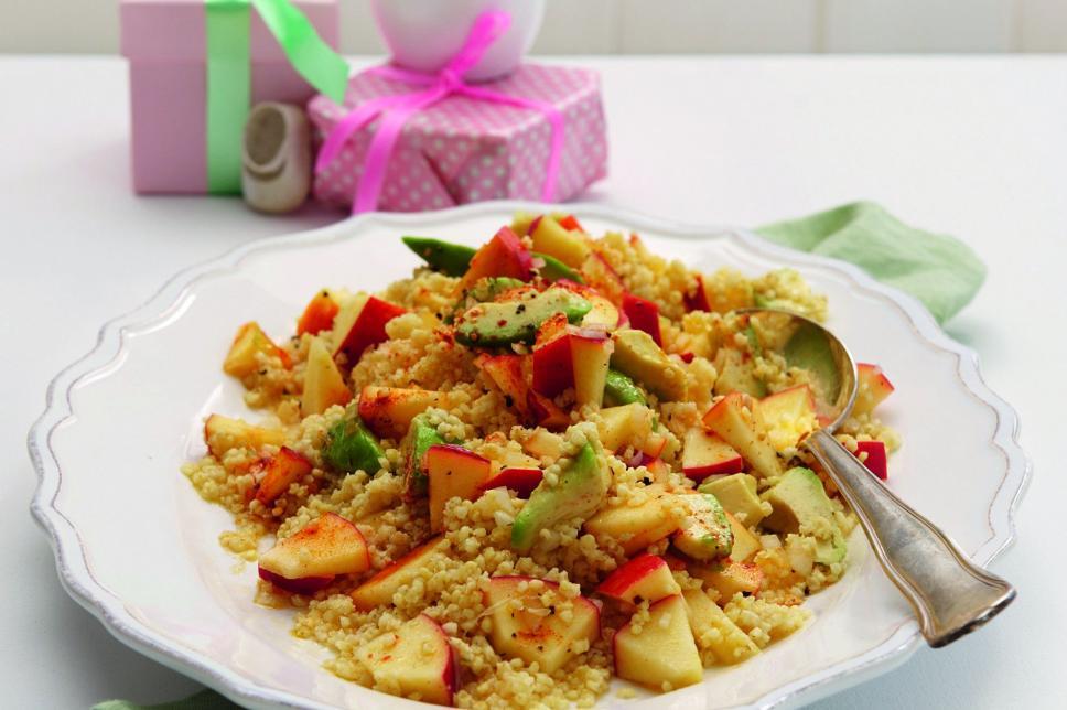 Rezept Hirsesalat mit Apfel