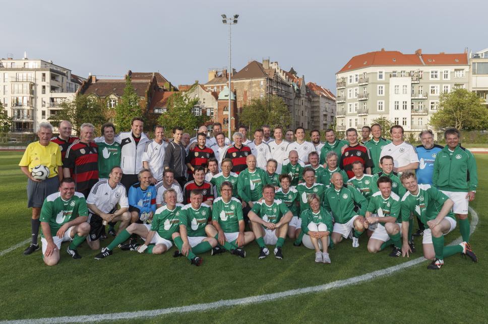 Benefiz Spiel 2015, FC Diabetologie und FC Bundestag