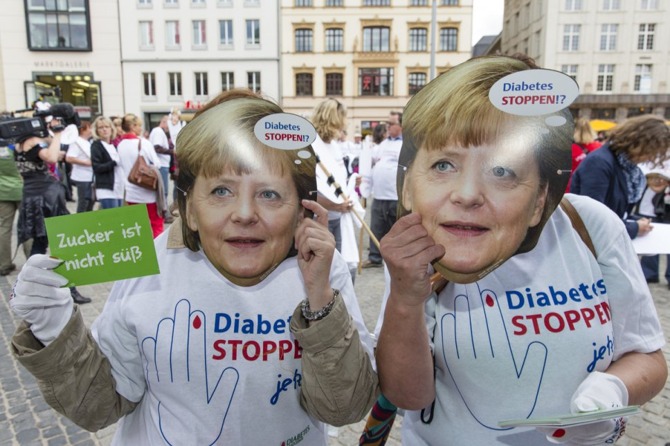 "Demo ""Diabetes STOPPEN - Jetzt!"" am 9.5.2013 in Berlin"