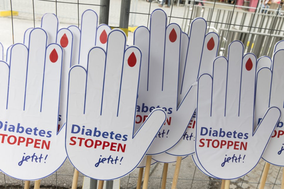 Diabetes Stoppen Hände
