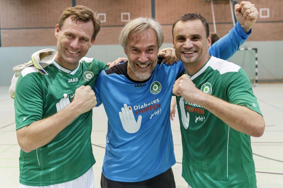 Benefiz Spiel 2015 Gewinner Anderbrügge Danne Max