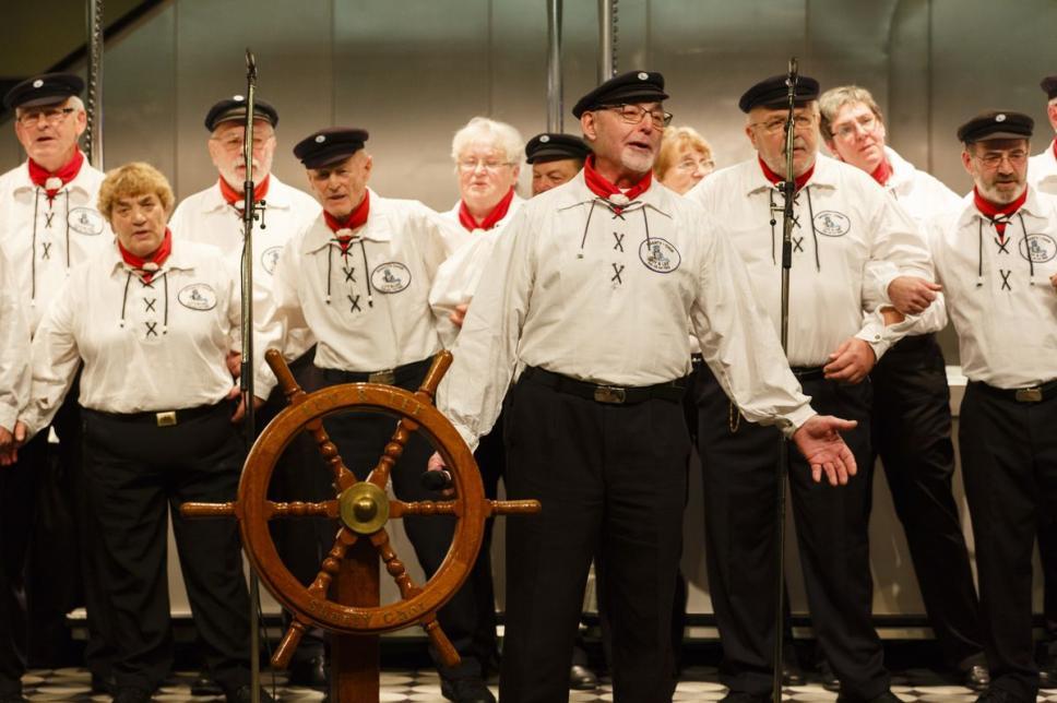 Shanty-Chor beim Weltdiabetestag 2013