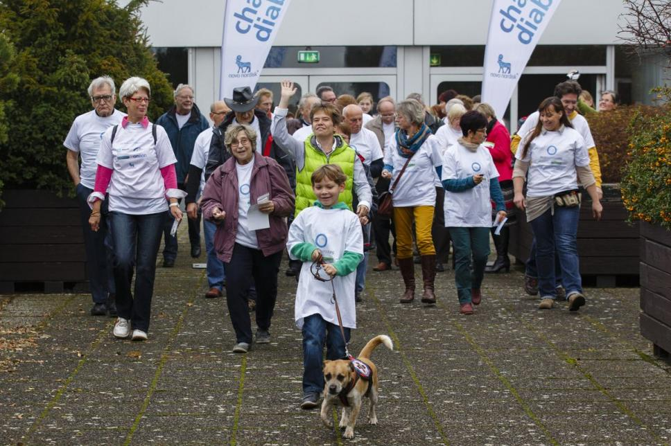Walk beim Weltdiabetestag 2013