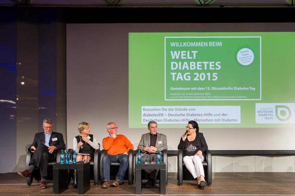 Weltdiabetestag 2015 - Talkrunde