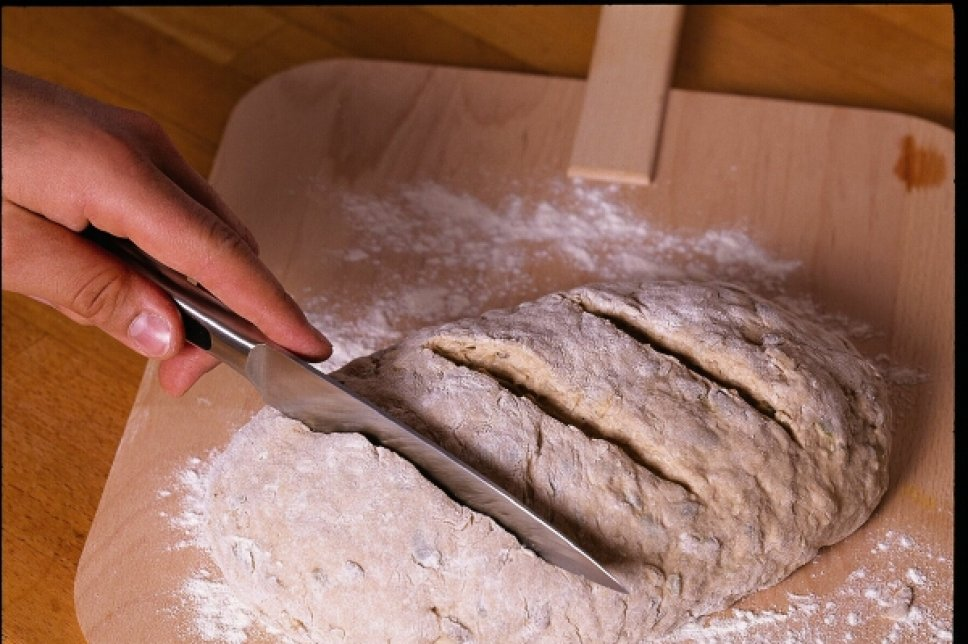 Ungebackenes Brot