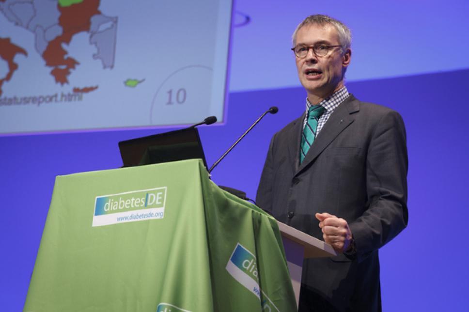 Weltdiabetestag 2010 Eröffnung durch Prof. Dr. Thomas Danne