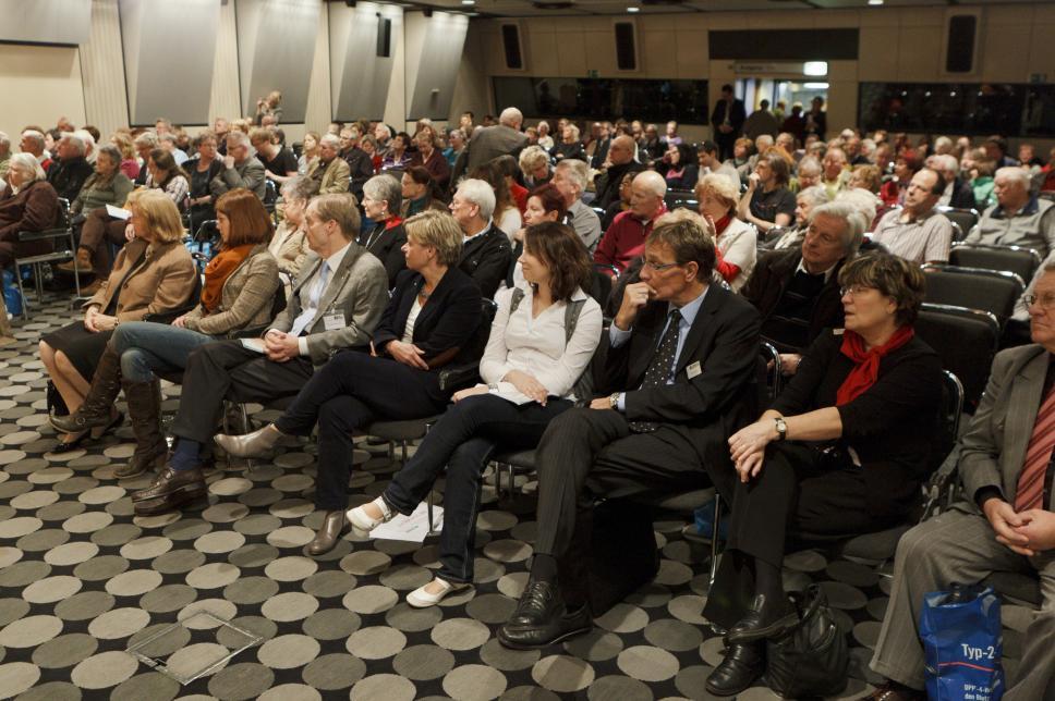 Auditorium beim Weltdiabetestag 2011