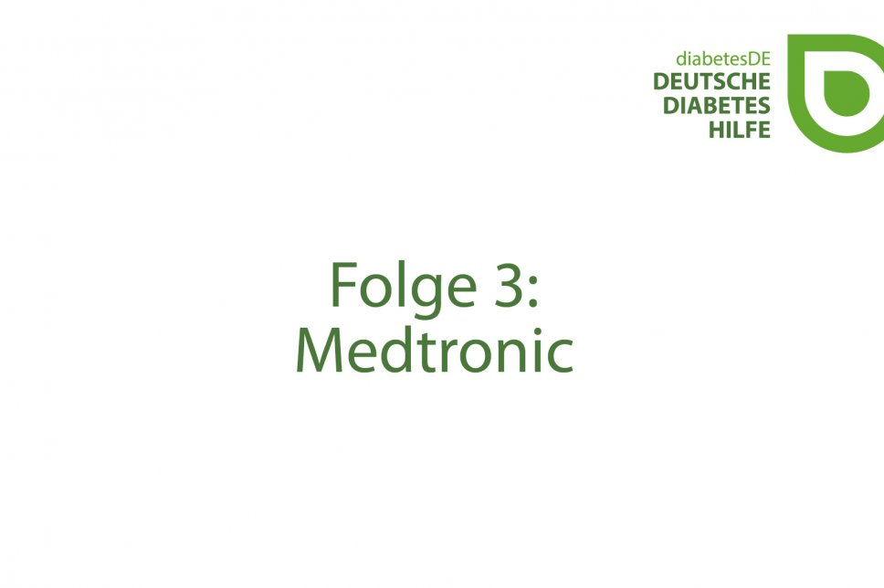 Titelbild Video CGM Medtronic