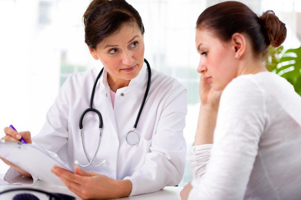 Neudiagnose: Arzt und Patient