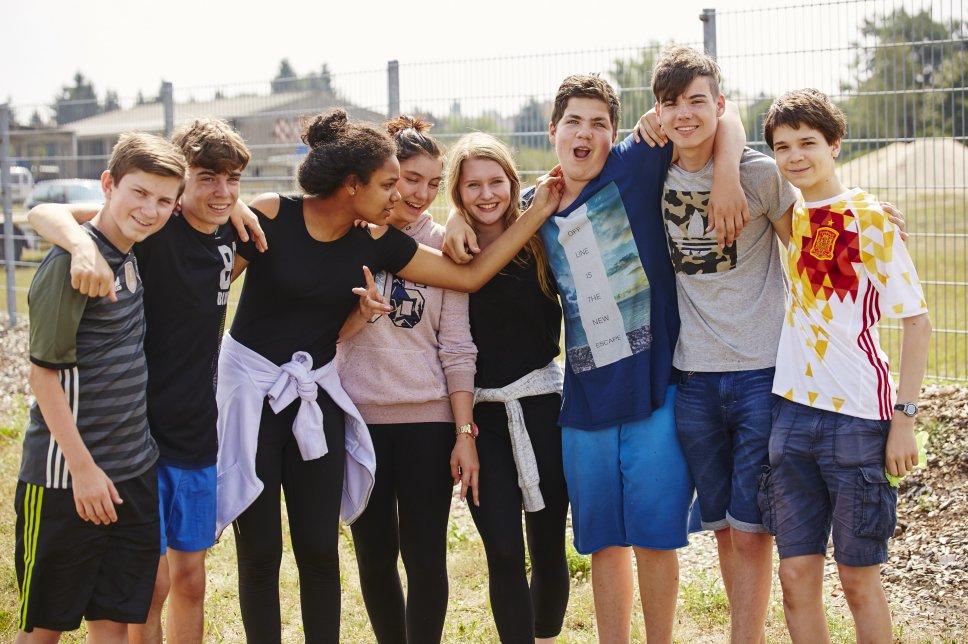 Kinder beim Teen-Treff 2016 - Ferienfreizeiten