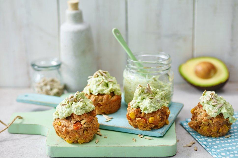 Herzhafte Gemüse-Cupcakes