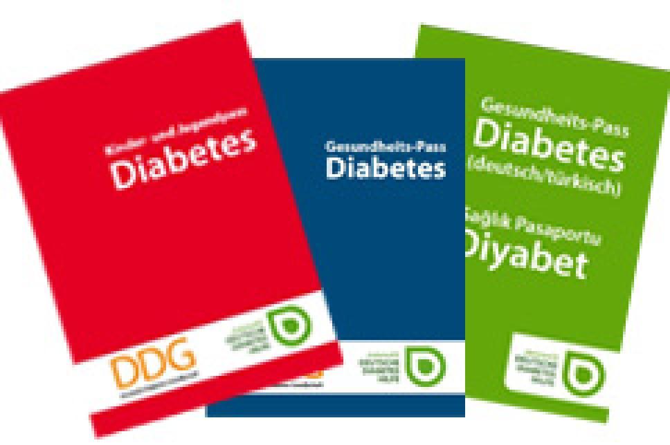Gesundheitspässe Diabetes 2015
