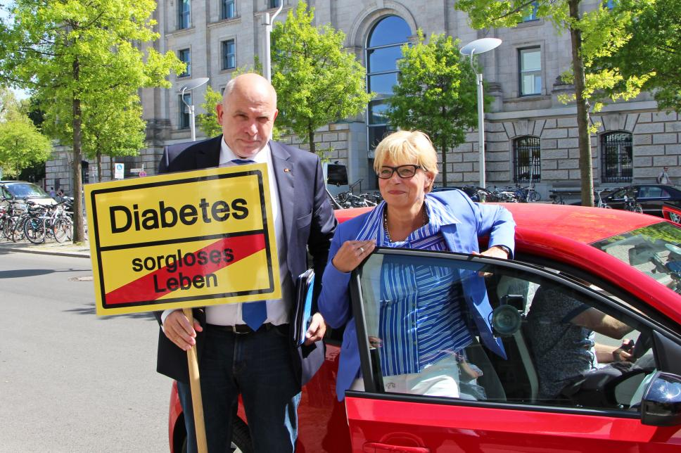 Diabetes-Taxi mit Dietrich Monstadt, CDU