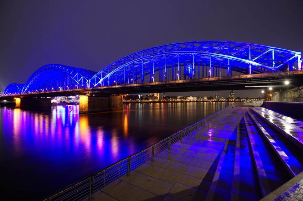 Weltdiabetestag 2016 Köln Illumination