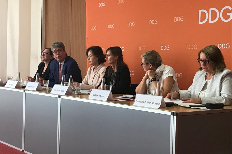 Pressekonferenz zur Nationalen Diabetesstrategie am 11.09.2019