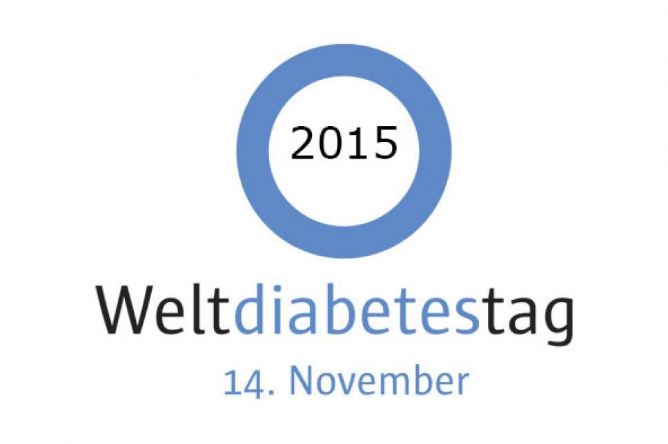 Logo Weltdiabetestag 2015