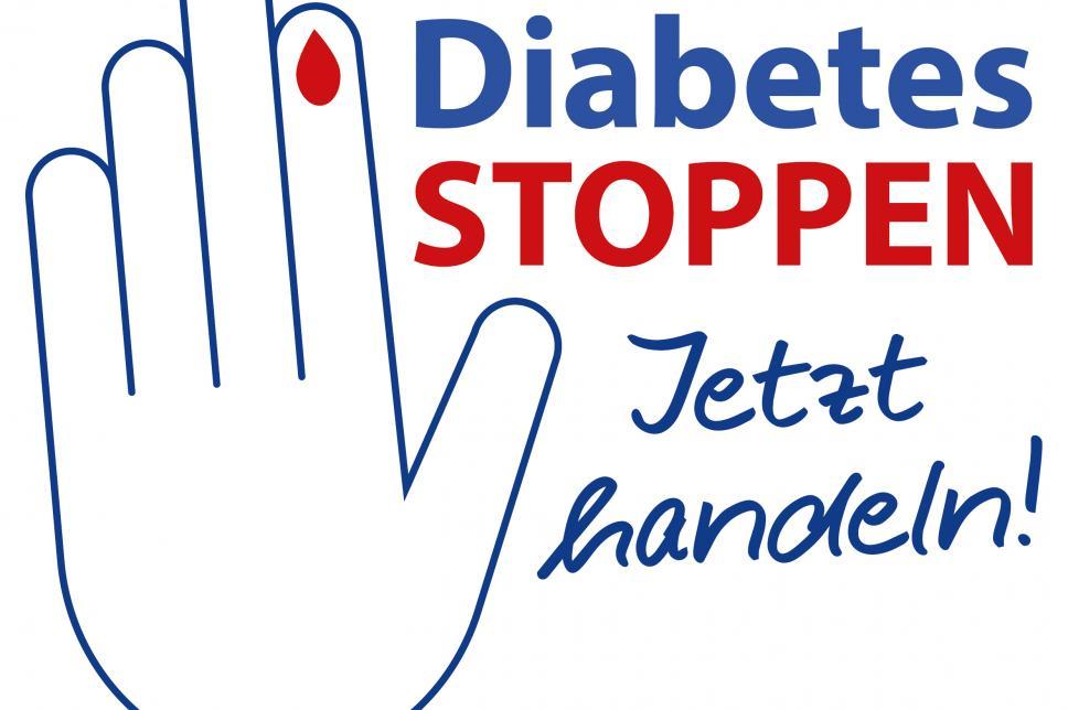 Logo Diabetes stoppen