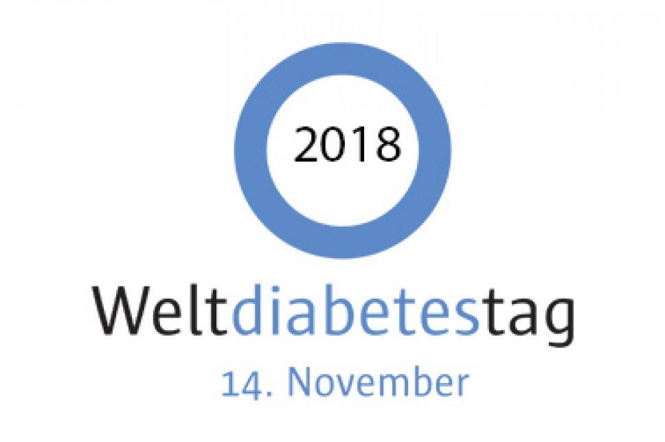Logo Weltdiabetestag 2018