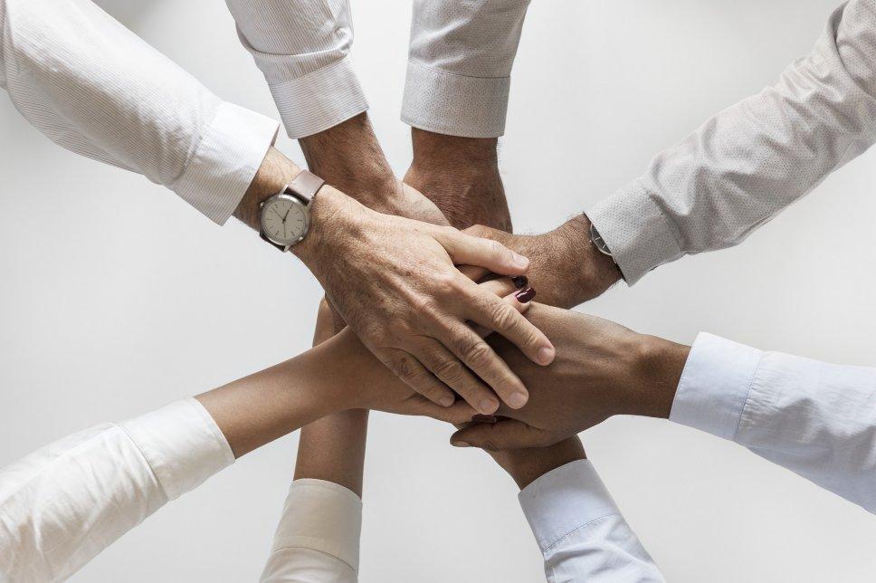 Team - Zusammenhalt - Zusammenarbeit