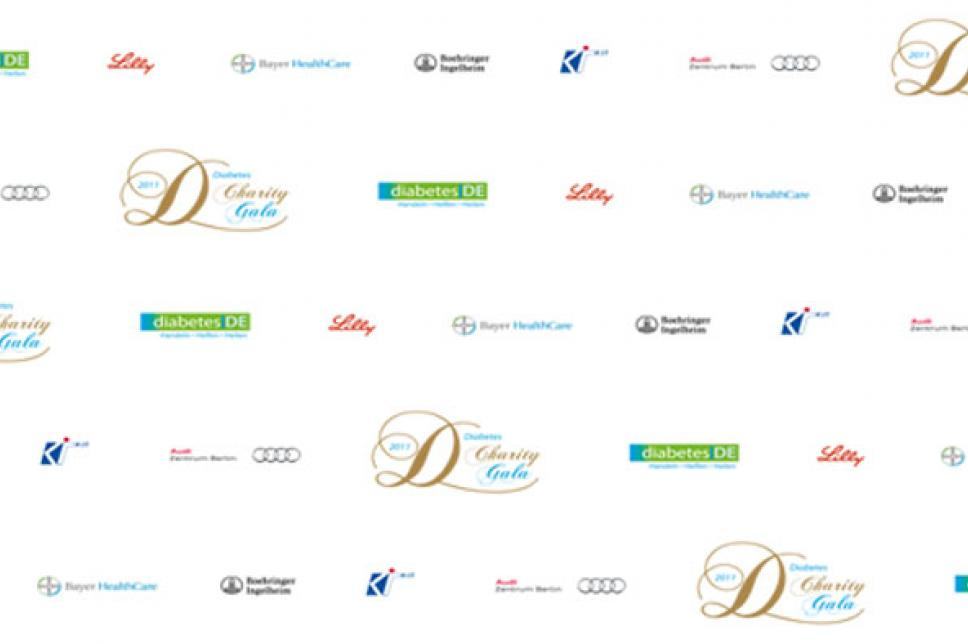 Sponsorenwand Gala 2011