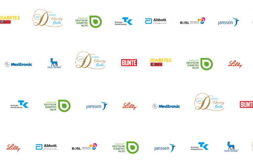 Sponsorenwand Gala 2014