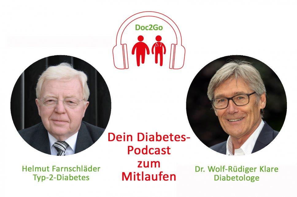 Podcast Doc2Go Folge 9 Dr. Wolf-Rüdiger Klare Helmut Farnschläder