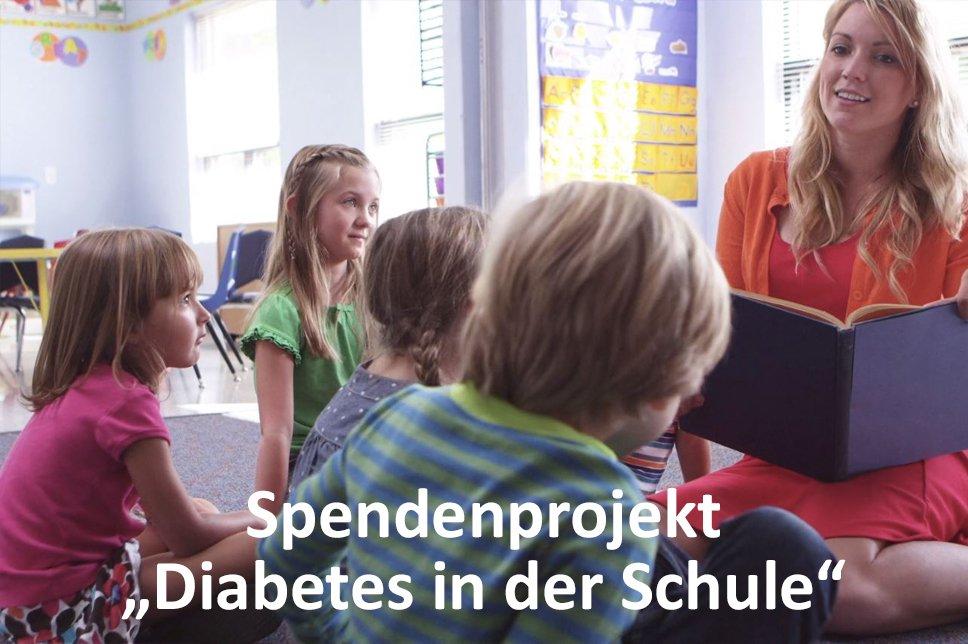 Spendenprojekt Diabetes in der Schule Lehrerin