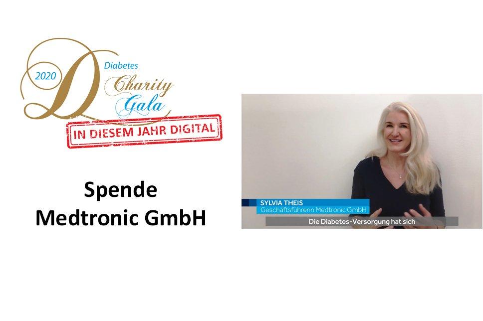 Scheckübergabe Medtronic Gala 2020