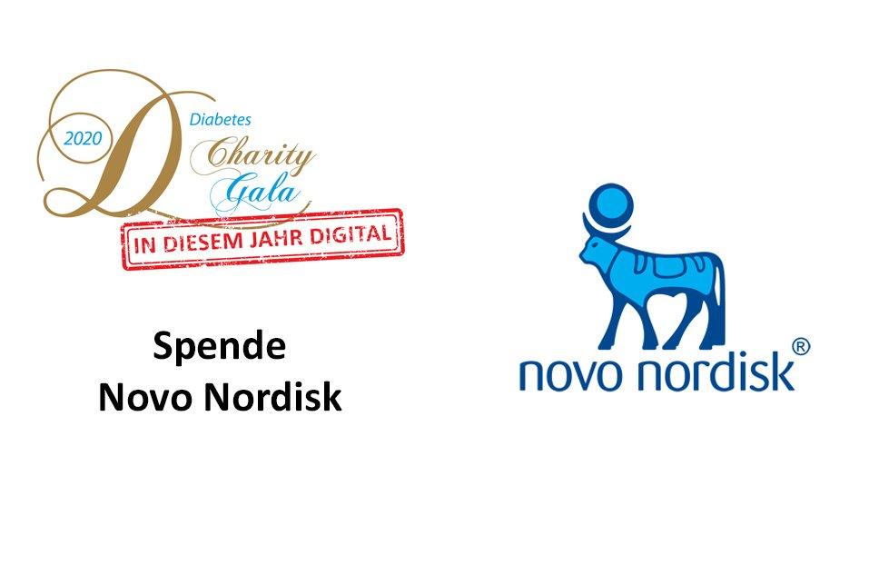 Scheckübergabe Novo Nordisk Gala 2020