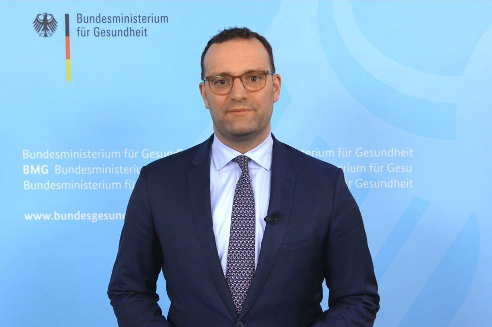 WDT 2020 Videobotschaft Jens Spahn