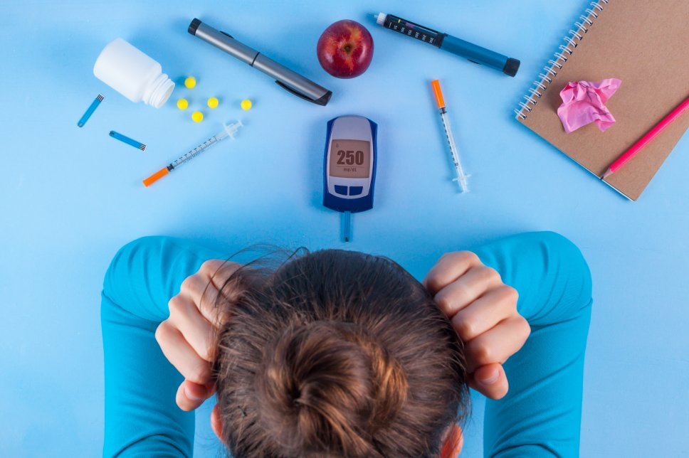 Überforderung bei Diabetes