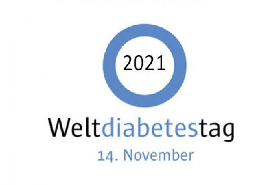 Logo Weltdiabetestag 2021 Hero-Bild