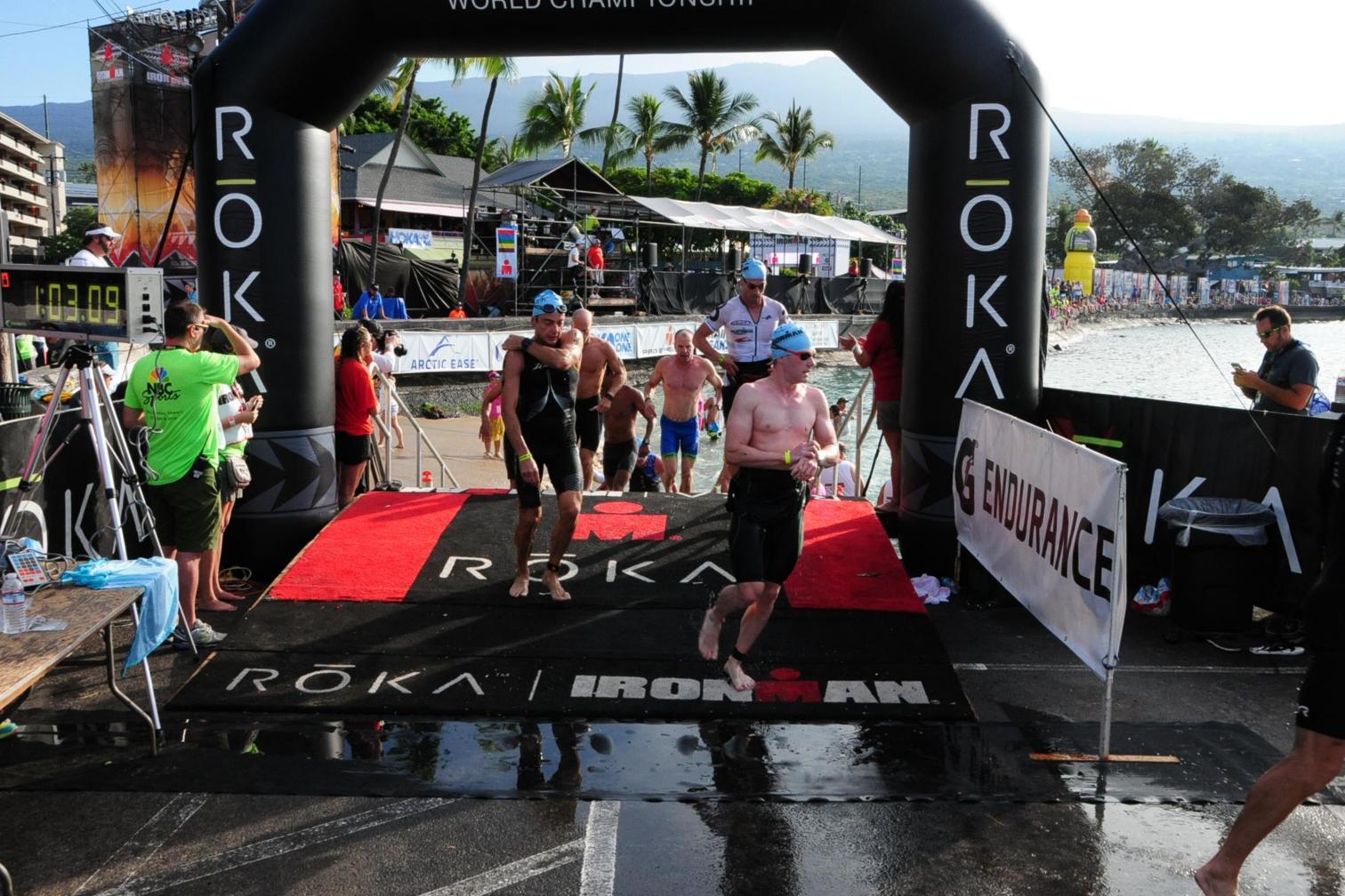 Steffen Schmelzle beim Ironman Hawaii 2016
