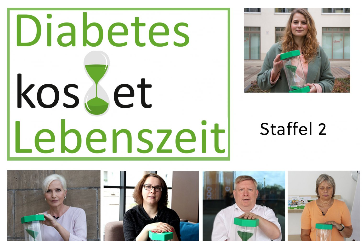 Diabetes kostet Lebenszeit Staffel 2 - Collage