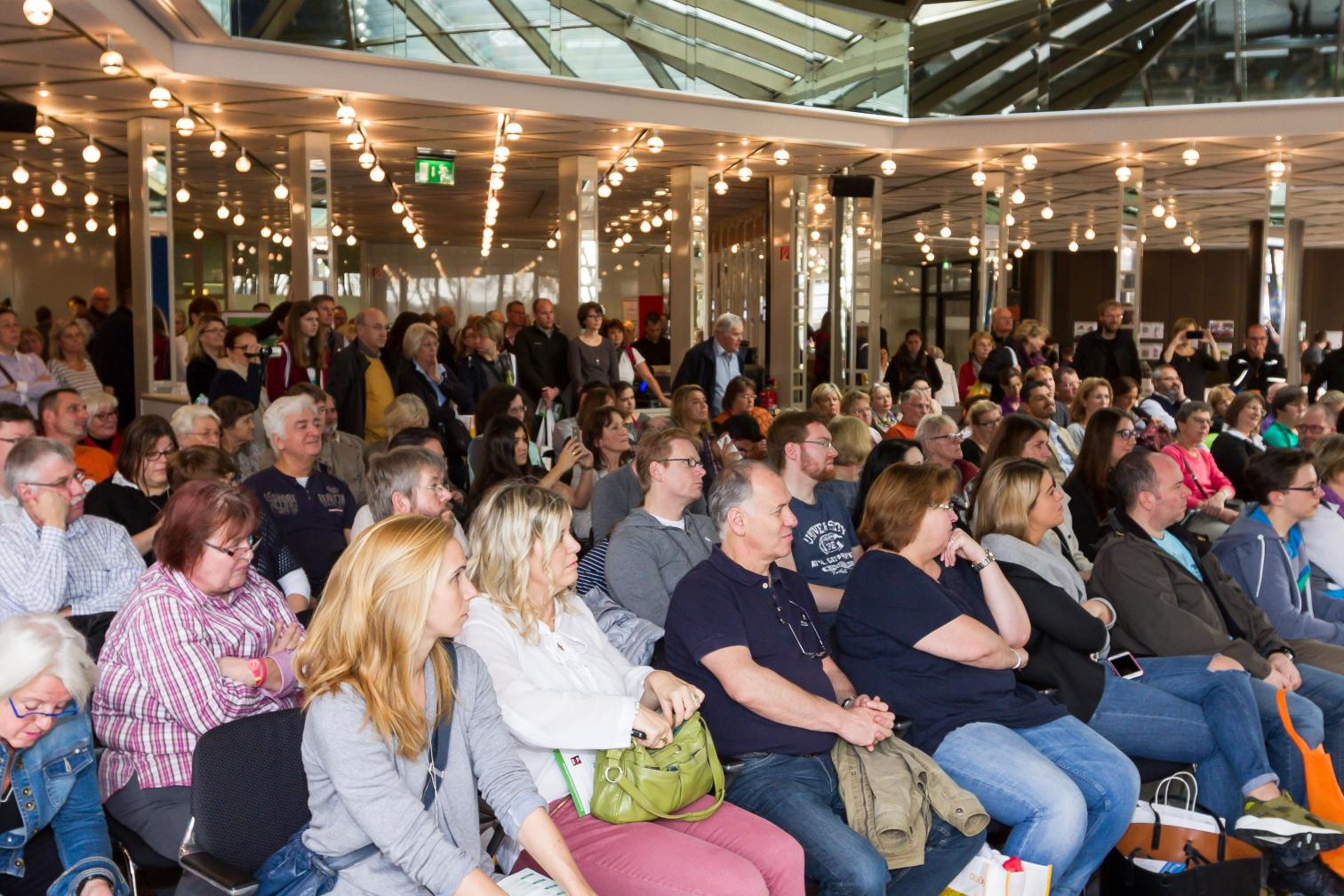 Weltdiabetestag 2015 - Publikum