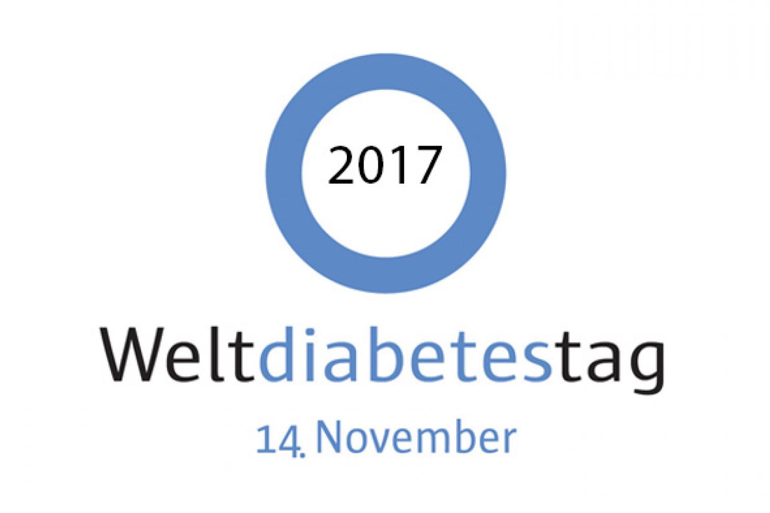Logo Weltdiabetestag 2017
