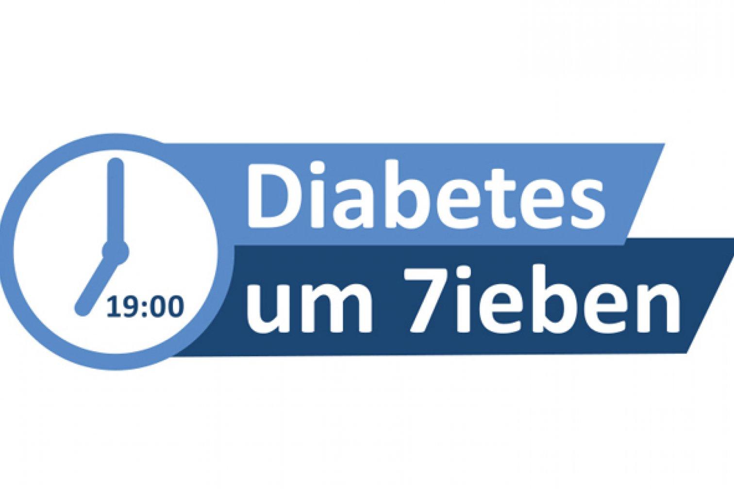 Logo Diabetes um Sieben