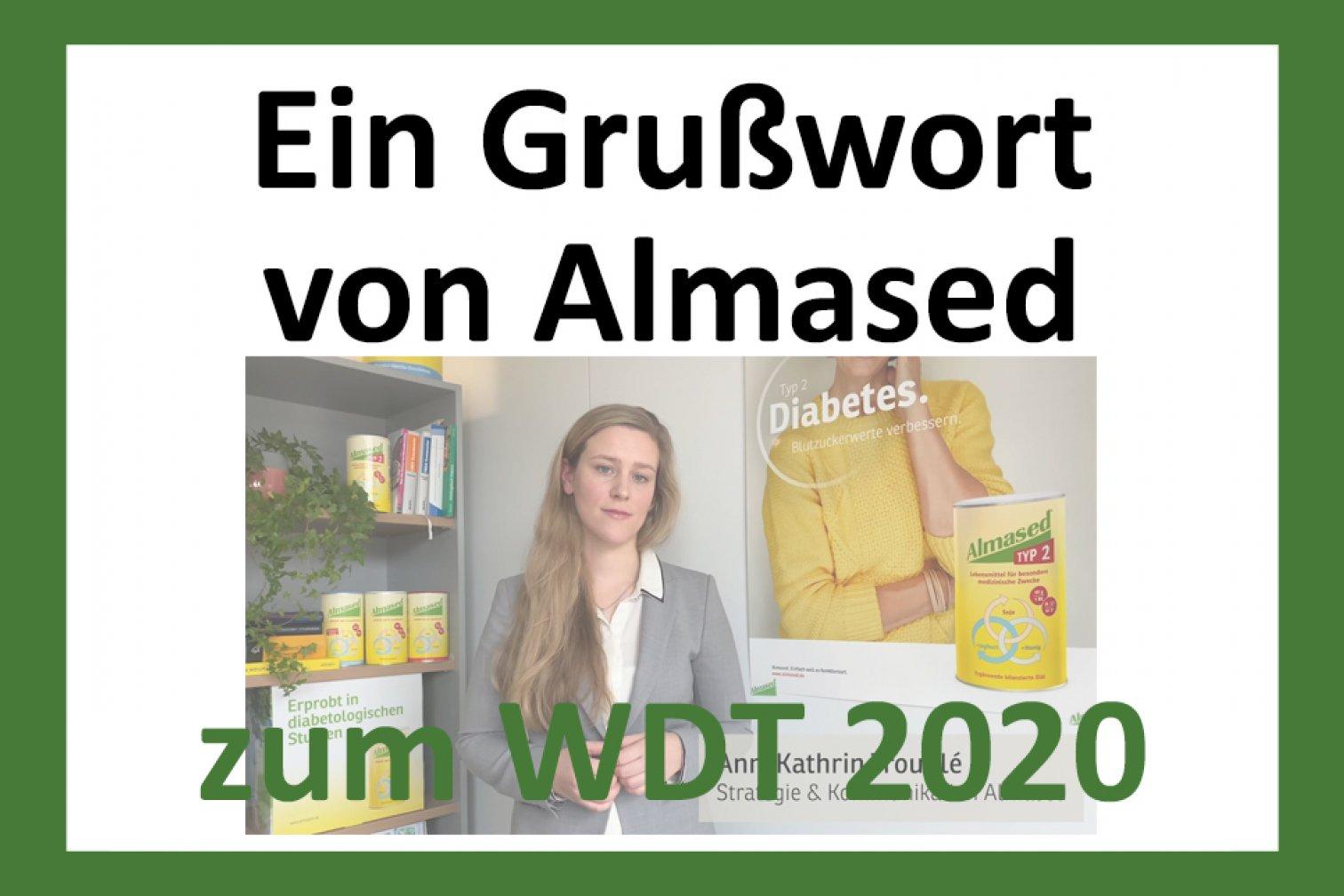 Teaser WDT 2020: Grußwort Almased