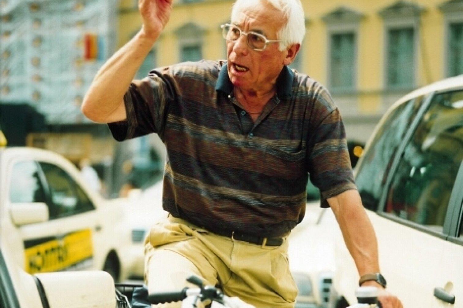 Mensch im Straßenverkehr