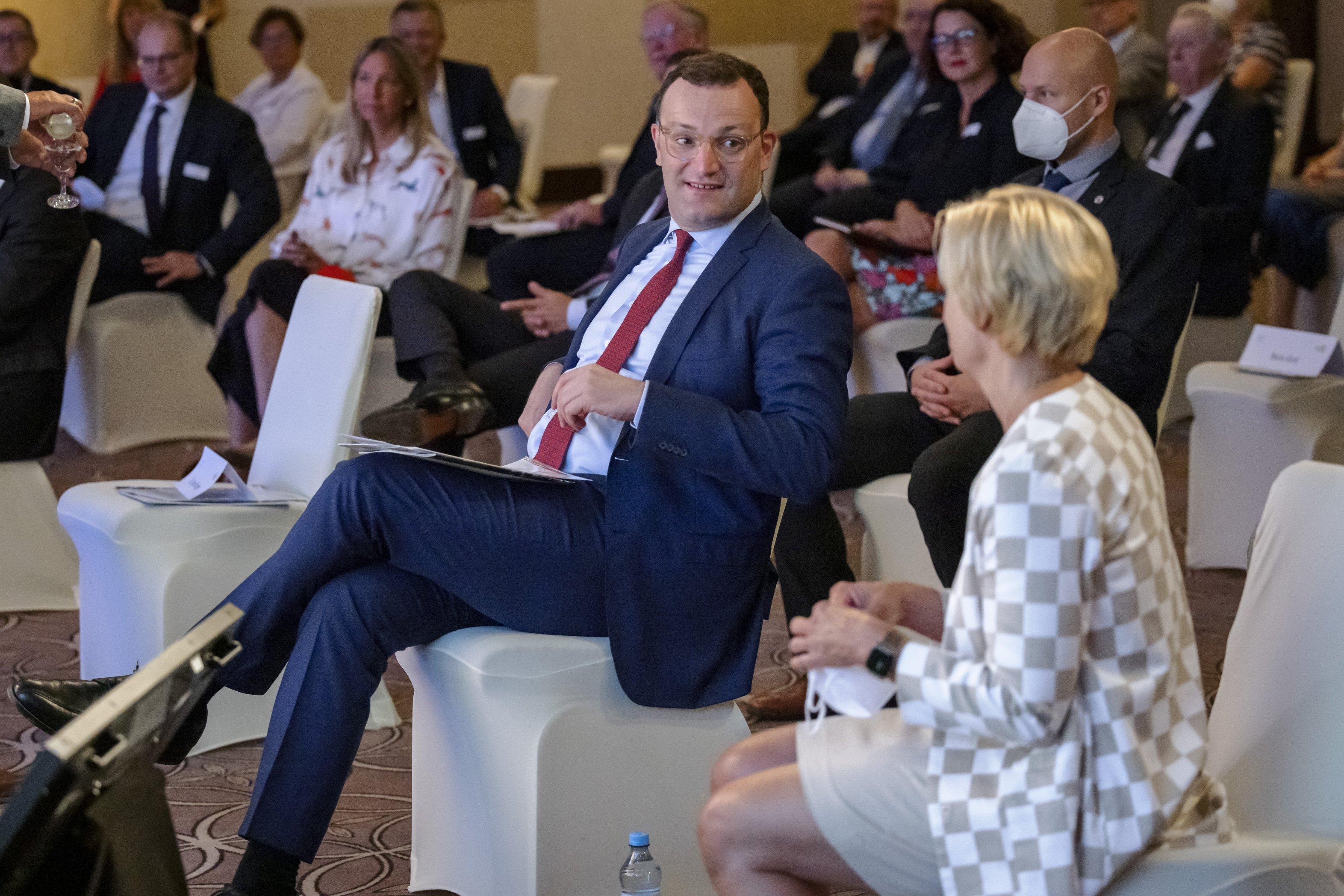 Event 100 Jahre Insulin: Jens Spahn und Nicole Mattig-Fabian im Gespräch